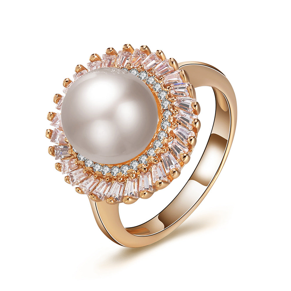 Pearl Snow Ring