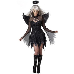 Halloween Costume Dark Angel Cosplay Suit