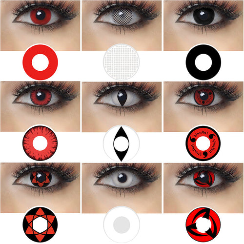Colored eye Lenses