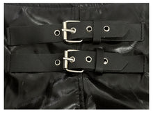 Load image into Gallery viewer, Faux Leather Stretch Shorts