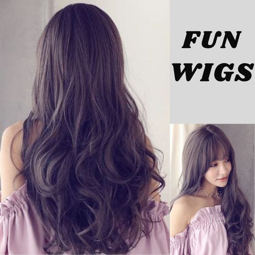 Long Curly Hair Fiber Wig