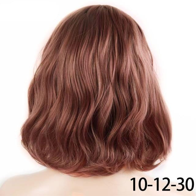 Short Water Wave Synthetic Hair 8 Colors
