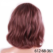 Load image into Gallery viewer, Short Water Wave Synthetic Hair 8 Colors