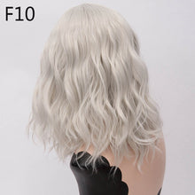 "Load image into Gallery viewer, 14"" Medium Wavy Wig in 13 Colors"