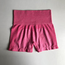 Load image into Gallery viewer, High waist seamless gym shorts in 5 Colors S-L