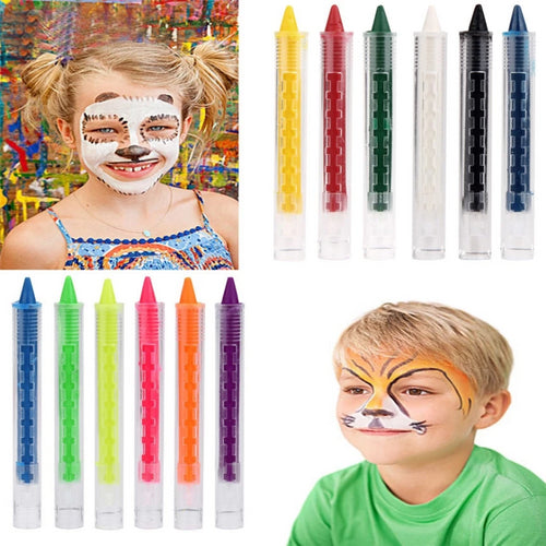 Non-toxic Colorful Face Painting