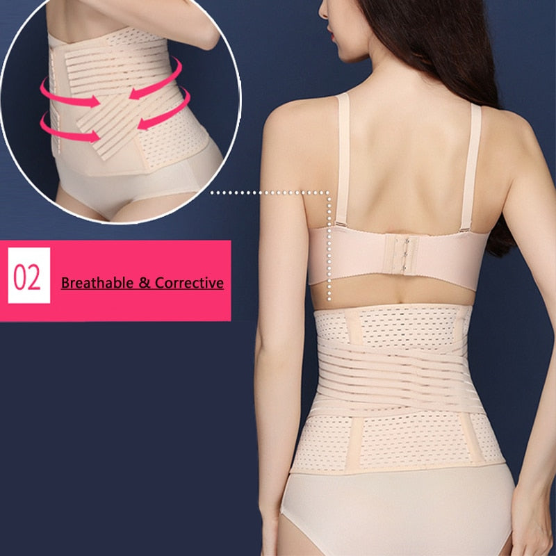 Waist Trainer Modeling Strap 3 Colors M-XL