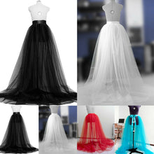 Load image into Gallery viewer, Elegant Chiffon Prom/Wedding Skirt in 4 Colors