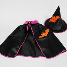 Load image into Gallery viewer, Satin Cape With Hat