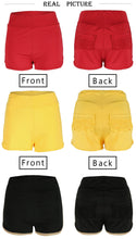 Load image into Gallery viewer, Elastic High Waist Solid Color Butt Lifting Shorts S-XL
