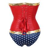 WW Costume With Blue Shorts S-6XL