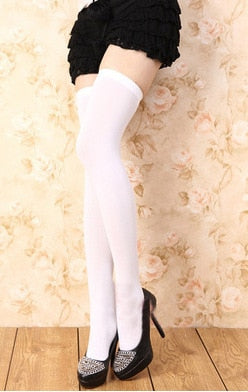 Thigh High Stockings in 8 Colors