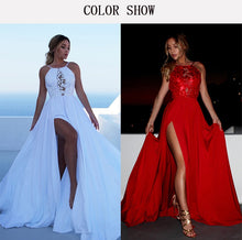 Load image into Gallery viewer, Life's a Beach Dress in Red or White S-XL