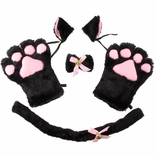 4pcs Cat Costume Accessories in 3 Colors
