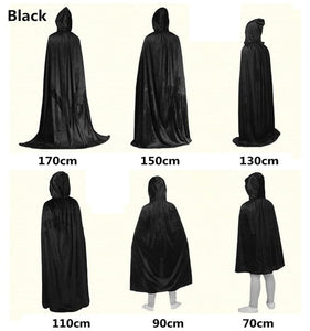 Cosplay Hooded Cape