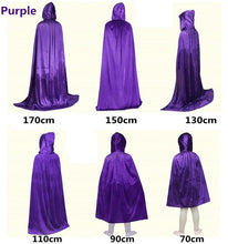 Load image into Gallery viewer, Cosplay Hooded Cape
