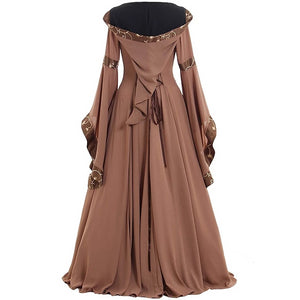 Wedding Hooded Dress in 4 Colors
