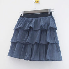 Load image into Gallery viewer, Layered Mini Skirt in 4 Colors