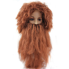 Load image into Gallery viewer, The Wig Beard Cosplay Black or Brown