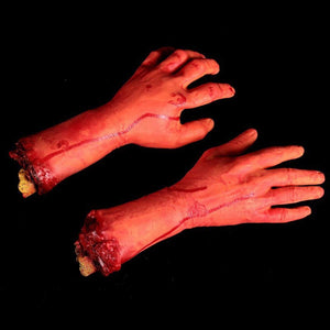 Scary Cut Off Bloody Hand