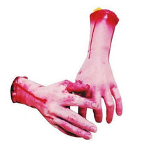 Load image into Gallery viewer, Scary Cut Off Bloody Hand