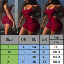 Load image into Gallery viewer, Backless Playsuit in 4 Colors S-XL
