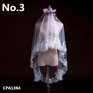 Voile Veils in 16 Styles