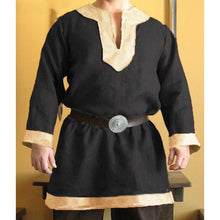 Load image into Gallery viewer, Medieval Vikings Pirate Cosplay Tunic S-5XL (belt not included)