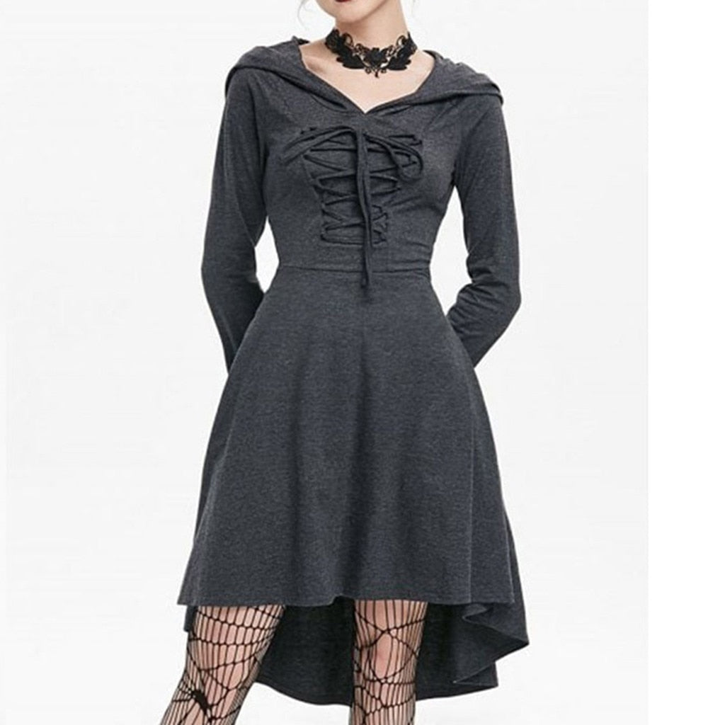 Women Hoodie Dress S-5XL