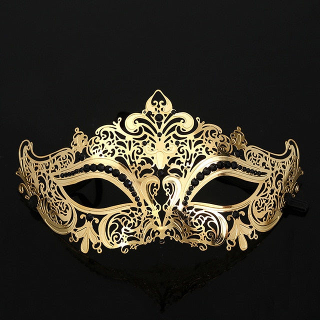 Luxury Masquerade Mask Men's and Woman's 4 Styles