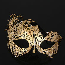 Load image into Gallery viewer, Luxury Masquerade Mask Men's and Woman's 4 Styles
