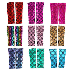 Mermaid Arm Sleeves in 9 Colors