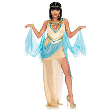 Load image into Gallery viewer, Queen Cleopatra Halloween Costume