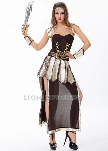 Ancient Greece Womens Gladiator Costume