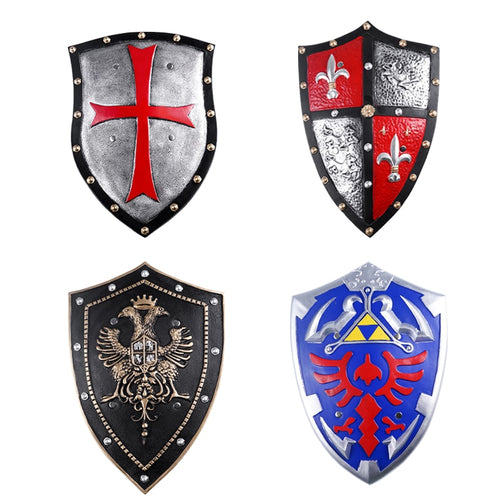 PU Crusader Knight Shield 5 Styles