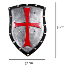 Load image into Gallery viewer, PU Crusader Knight Shield 5 Styles