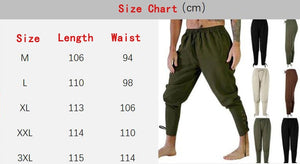 Adult Men Medieval Renaissance Trousers S-XXXL