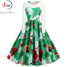 Load image into Gallery viewer, Holiday Print Vintage Dresses and Underskirts
