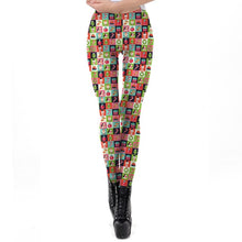 Load image into Gallery viewer, 3D Printed Holiday Leggings For Women