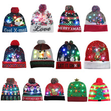 Load image into Gallery viewer, LED Light-up Knitted Hats