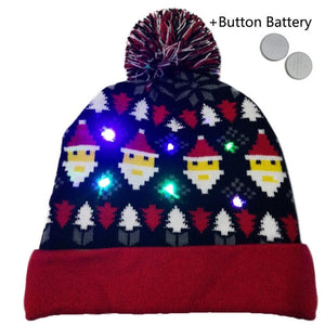 LED Light-up Knitted Hats