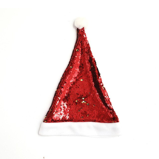 28x36 CM Holiday Sequin Hat