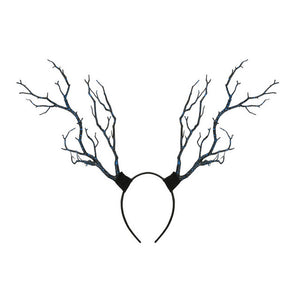 Long Antler Tree Branches Headpieces in 3 Colors