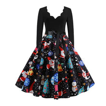Load image into Gallery viewer, Long Sleeve Christmas Dresses Many Colors and Sizes Fast shipping
