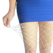 Load image into Gallery viewer, Women Sexy Lingerie Fishnet Embroidered Pantyhose