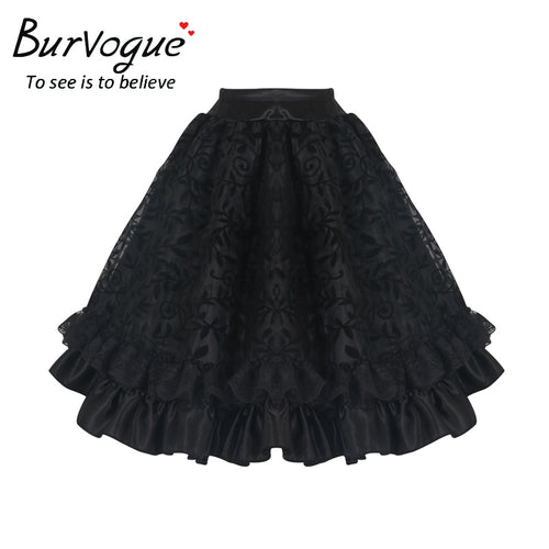 Gothic Corset Skirt in 2 Colors S-3XL