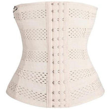 Load image into Gallery viewer, Plus Size Corsets Slimming Steel Boned Underbust 2 Colors Choose your rows  XS-5XL