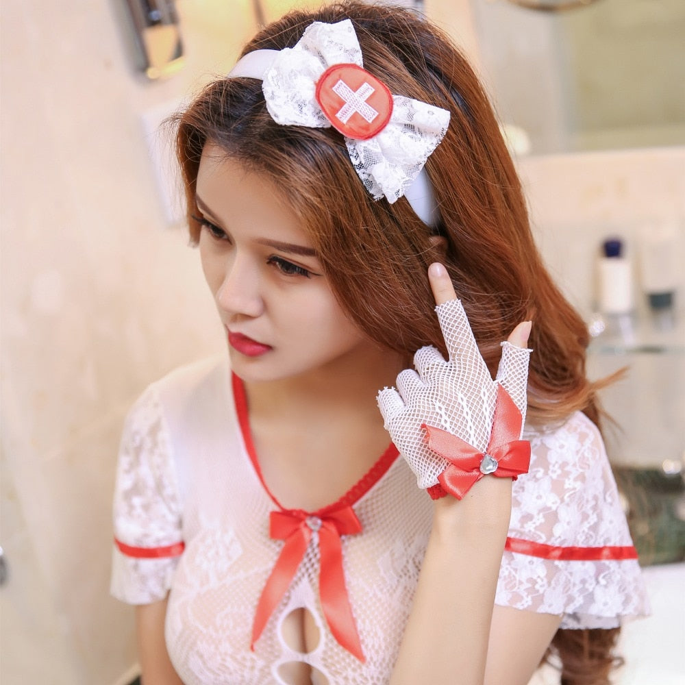Fantasy Party Sexy Nurse Costume
