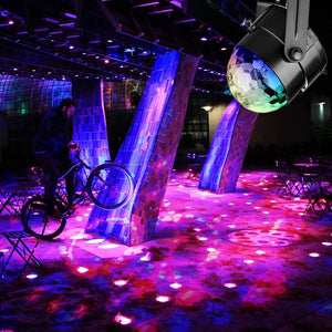 Sound Activated Rotating Disco Ball