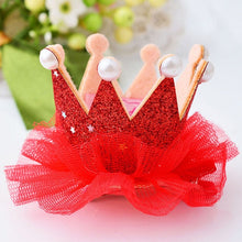 Load image into Gallery viewer, Crown Princess Hair Clip in 9 colors
